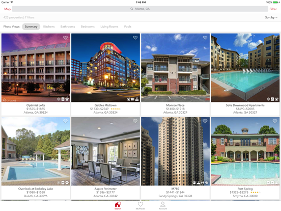 Apartments for Rent by Apartment Guide screenshot