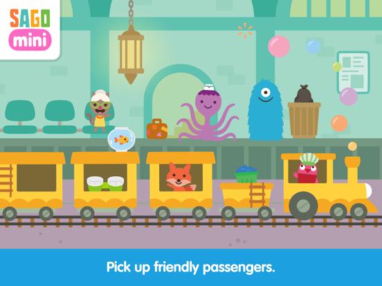 Sago Mini Trains screenshot 10
