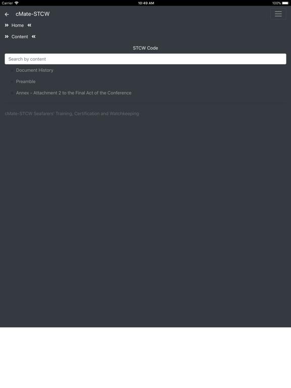 cMate-STCW screenshot #5