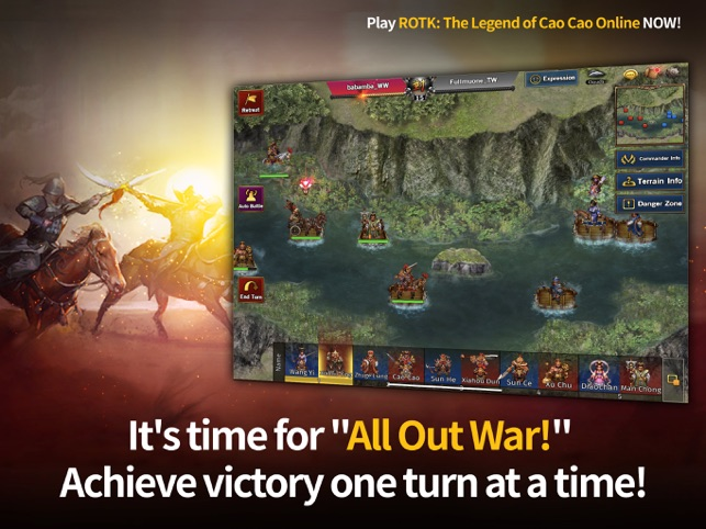 ROTK The Legend of CaoCao on the App Store