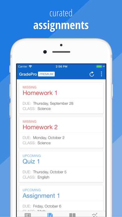 GradePro for grades Screenshot