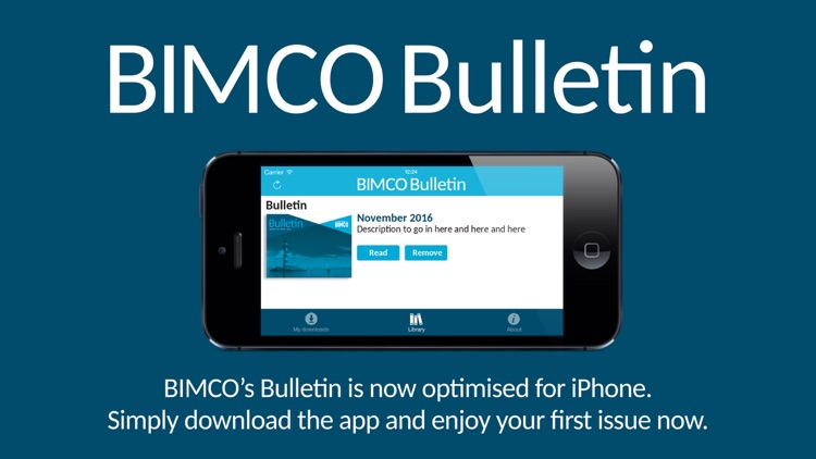 BIMCO Bulletin magazine screenshot-0