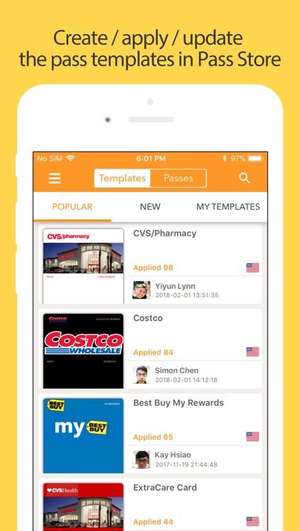 Pass2U Wallet - cards/coupons screenshot-3