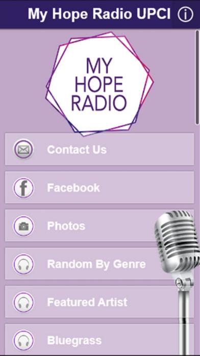 点击获取My Hope Radio UPCI