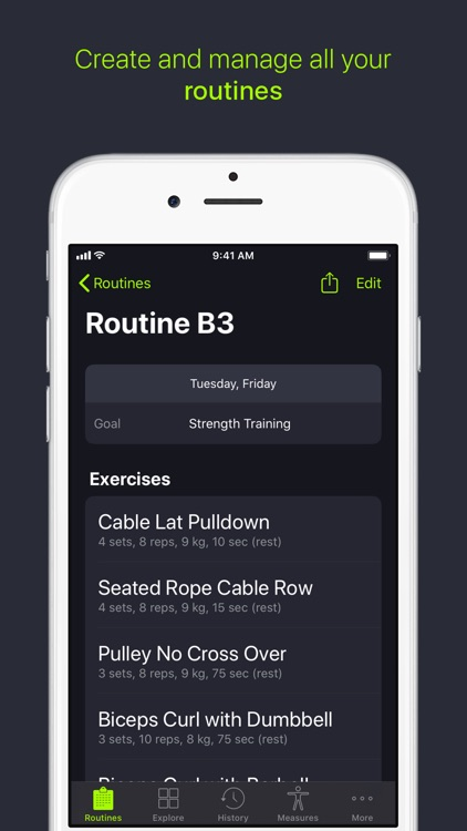SmartGym: Gym & Home Workouts screenshot-3