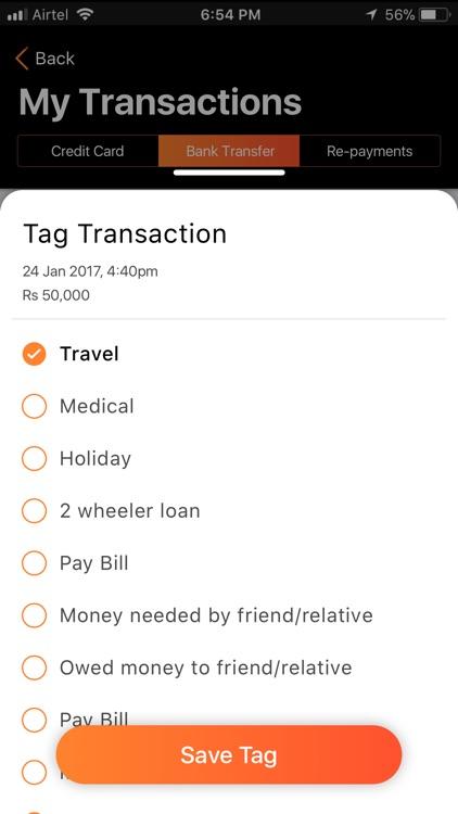 MoneyTap - Loan & Credit Card screenshot-5