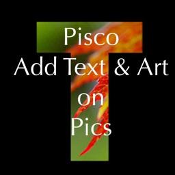 Pisco - Add Text & Art on Pics