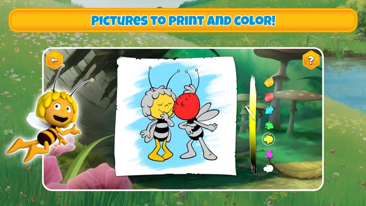 Maya the Bee's gamebox 1 screenshot-5