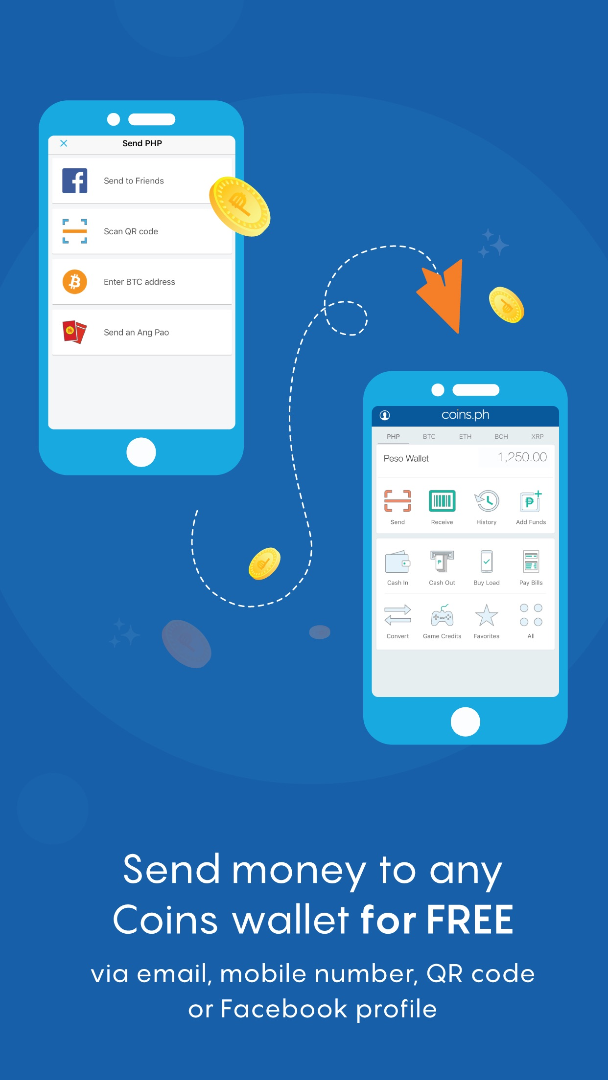 Coins– Load, Bills, Bitcoin Screenshot