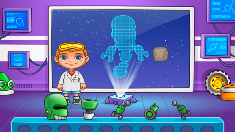 Jack in Space. Preschool learn screenshot-4