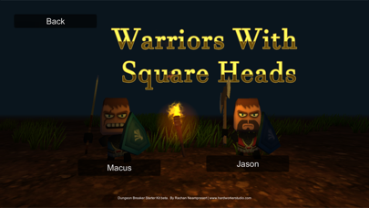 Warriors With Square Heads screenshot #1