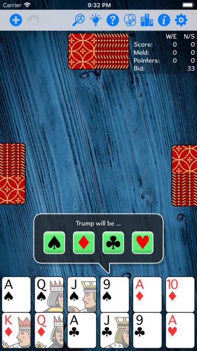 Pinochle Gold screenshot two