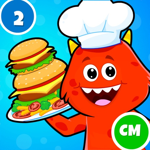 My Monster Town: Cooking Games