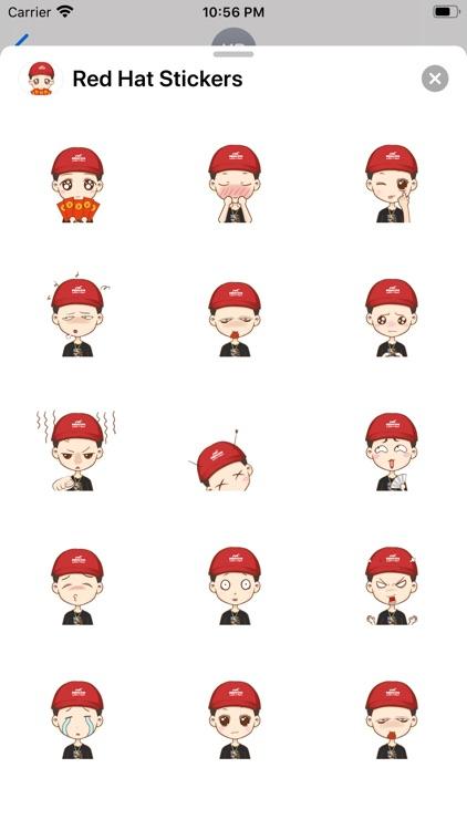 Red Hat Stickers screenshot-3