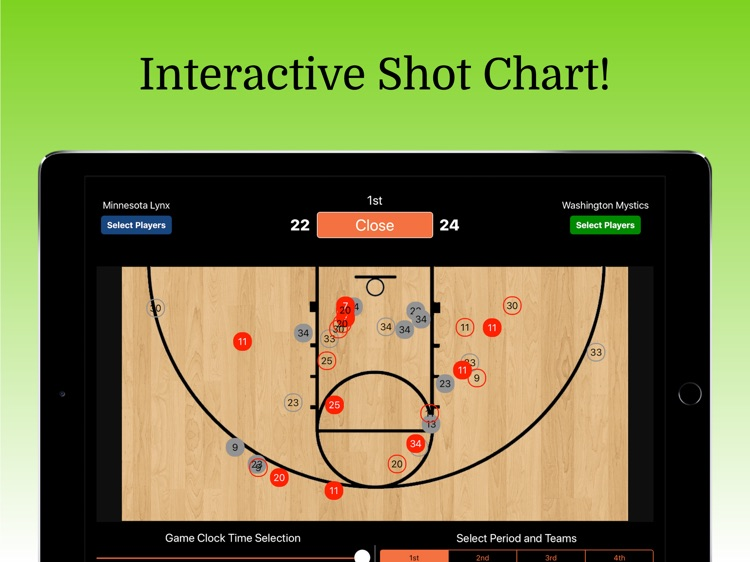 Ultimate Basketball Stats screenshot-3
