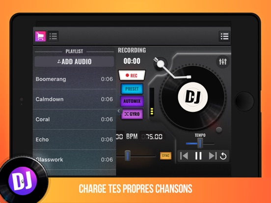 Screenshot #5 pour DJ Mix Maker