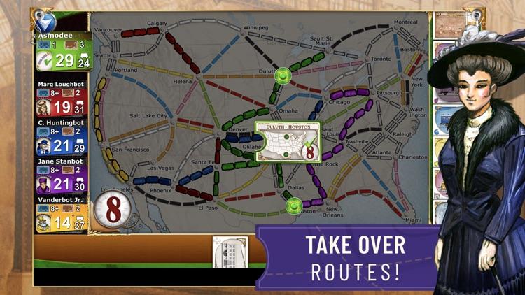 Ticket to Ride - Train Game screenshot-3