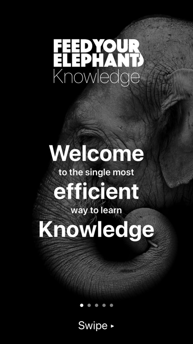 Feed Your Elephant Knowledge Screenshot