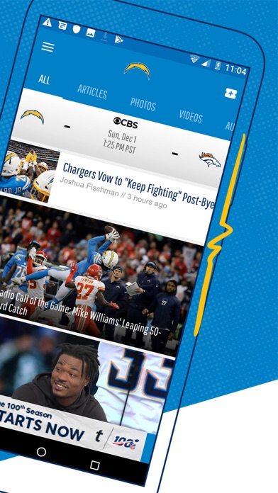 Los Angeles Chargers screenshot four