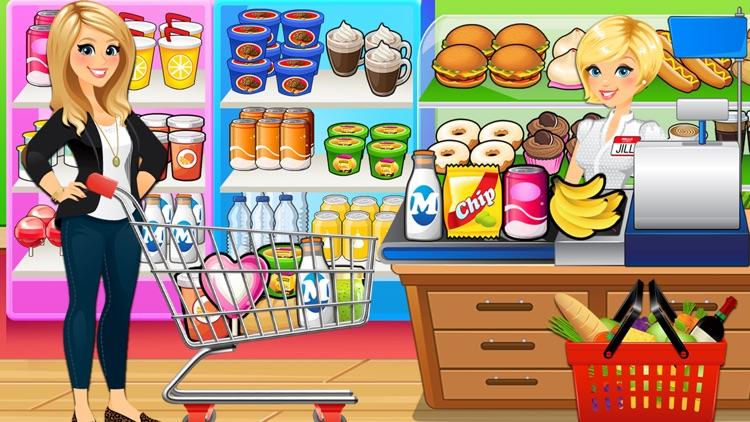Supermarket Grocery Store Girl screenshot-3