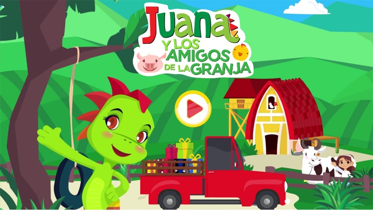 Play & Learn Spanish - Farm screenshot-0