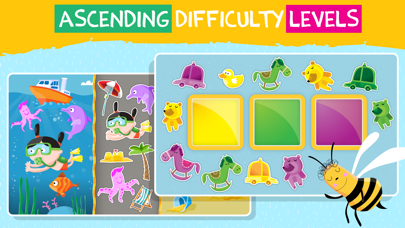 Pre-k preschool learning games screenshot two