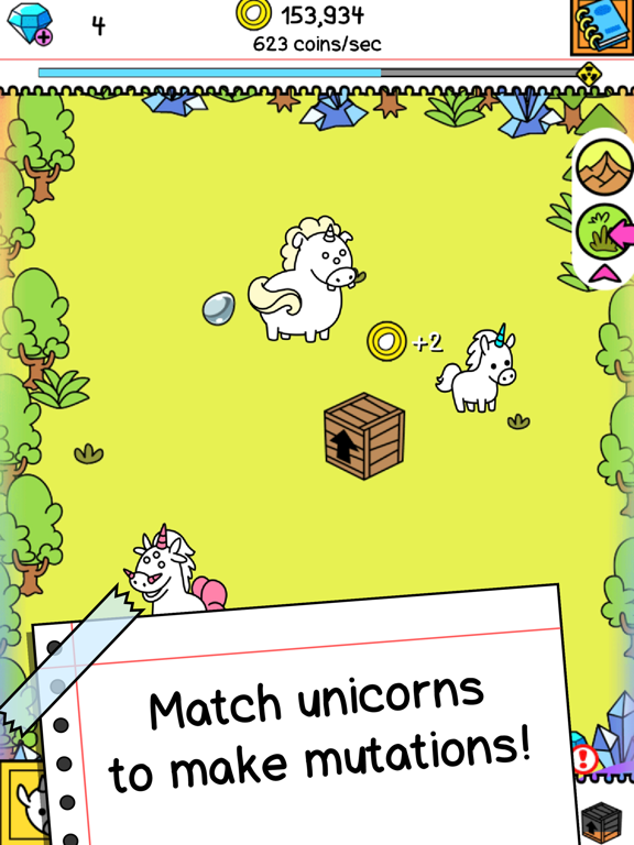 Unicorn Evolution Clicker Game By Tapps Tecnologia Da Informacao