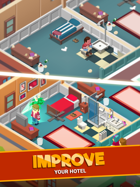 Hotel Empire Tycoon-Idle Game screenshot 8