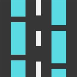 Highway traffic jam in Japan