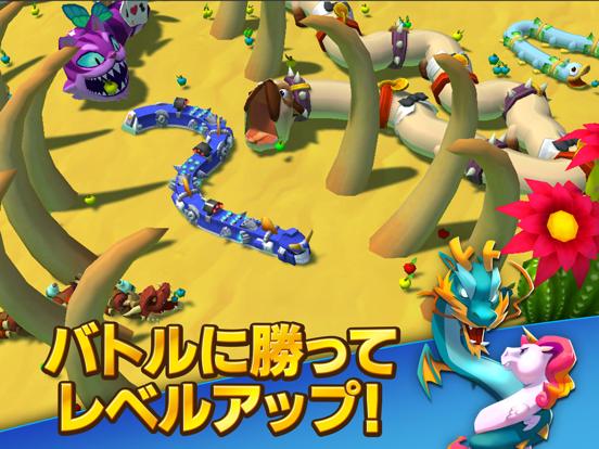 Snake Rivals - 新たな3Dのミミズゲームのおすすめ画像6