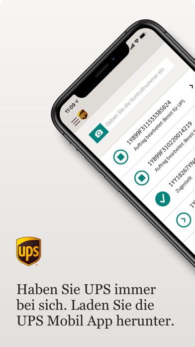 UPS MobileScreenshot von 1