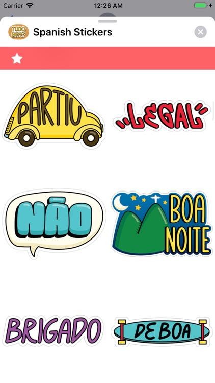 Spanish Stickers screenshot-5