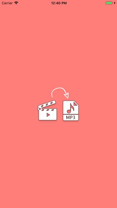 تحويل الفيديو الى الصوتلقطة شاشة1