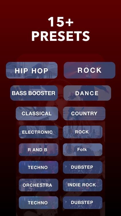 Equalizer Fx: Bass Booster App screenshot-3