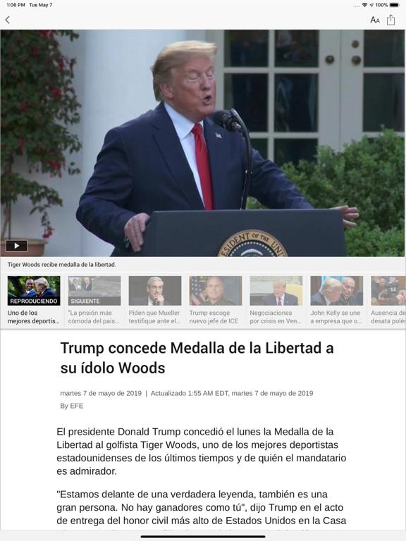 Telemundo 44 screenshot 6