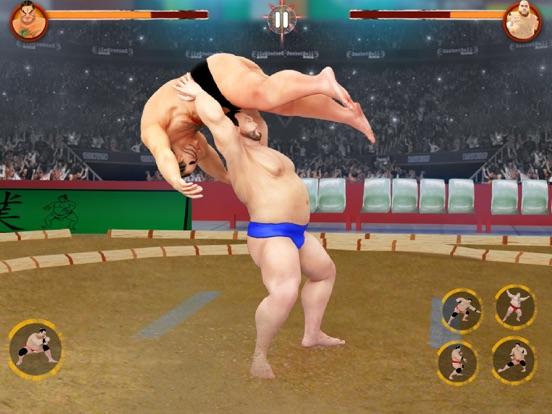 Sumo Games : Japan Wrestlingのおすすめ画像2