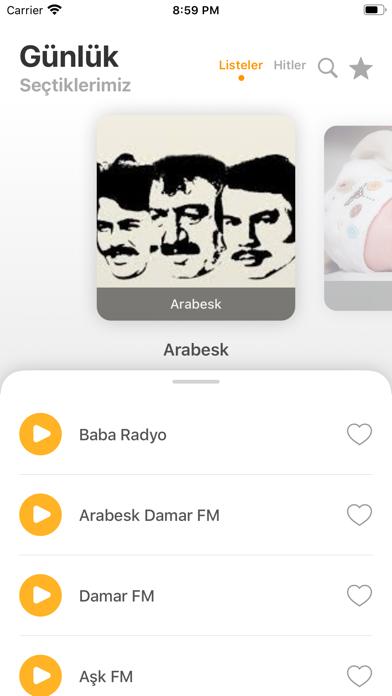 الاستماع إلى الموسيقى الإذاعيةلقطة شاشة1