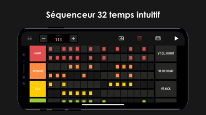 Screenshot for Drum Machine - Music Maker in France App Store