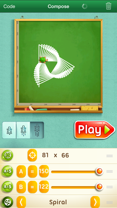 Move the Turtle. Learn to codeのおすすめ画像1