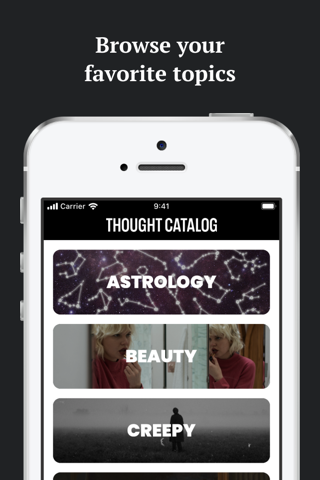 Thought Catalog - náhled