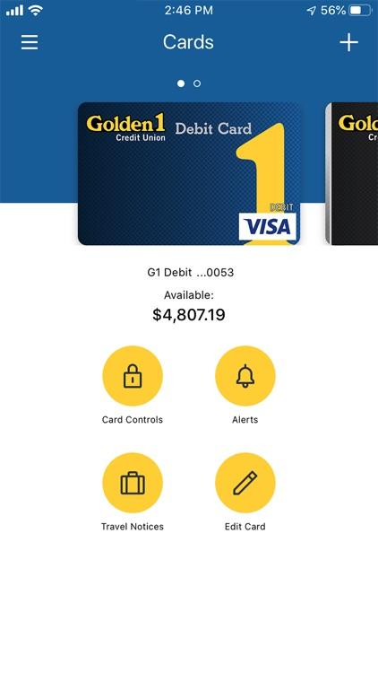 Golden 1 Card Controls screenshot-7