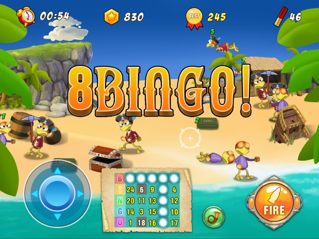 Bingo Island Of Hunters, game for IOS