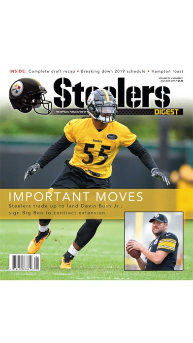 Steelers Digest review screenshots