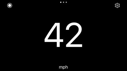 Screenshot for Speedometer Simple in United Kingdom App Store