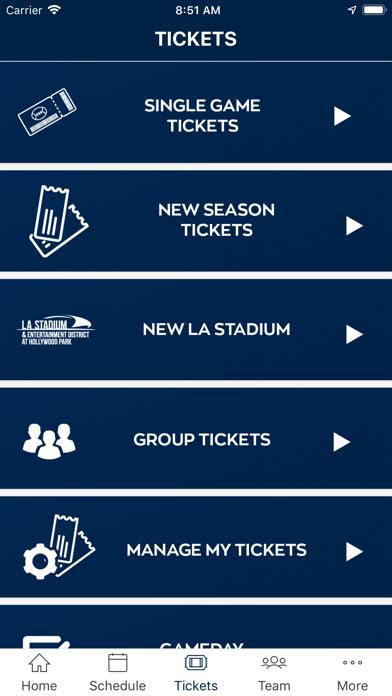 Los Angeles Rams screenshot four
