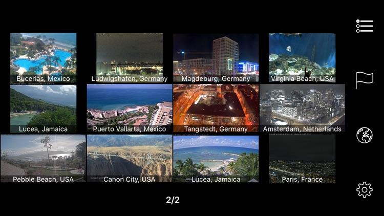 Earth Online: Live Webcams Pro