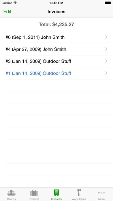 Timewerks: Mobile Billing screenshot four