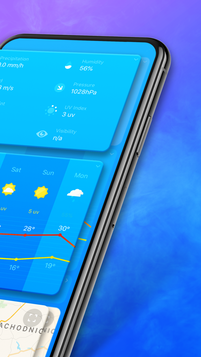 Weather and Forecast Screenshot