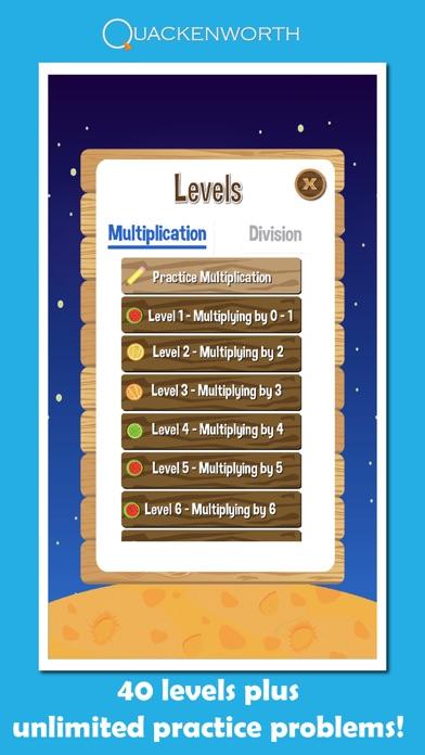 Fruit Rockets Multiplication screenshot four