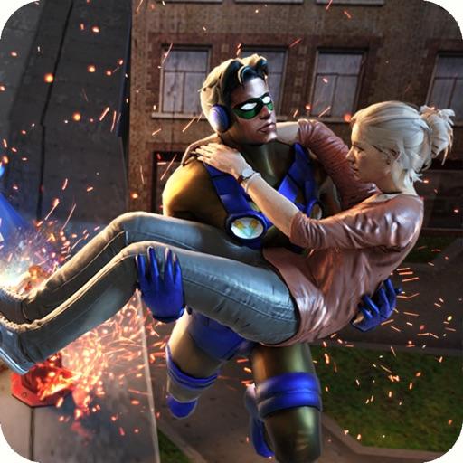 Rope Swing Hero Rescue Mission iOS App